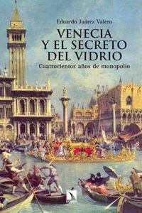 Venecia y el secreto del vidrio: portada