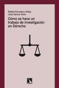 Cómo se hace un trabajo de investigación en Derecho: portada