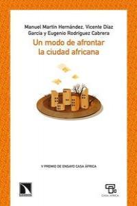 Un modo de afrontar la ciudad africana: portada