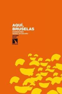 Aquí, Bruselas: portada
