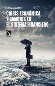 Crisis económica y cambios en el sistema financiero: portada