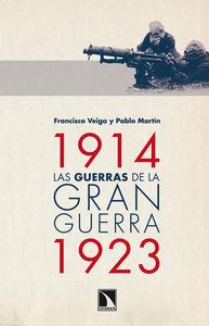 Las guerras de la Gran Guerra (1914-1923): portada