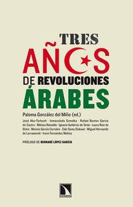 Tres años de revoluciones árabes: portada