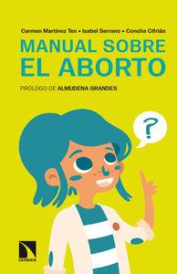 Manual sobre el aborto: portada