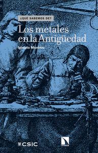 Los metales en la Antigüedad: portada