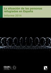 La situación de las personas refugiadas en España: portada