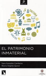 EL PATRIMONIO INMATERIAL: portada
