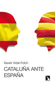 CATALUÑA ANTE ESPAÑA: portada