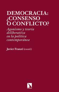 Democracia: ¿consenso o conflicto?: portada