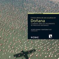 Censos aéreos de aves acuáticas en Doñana: portada