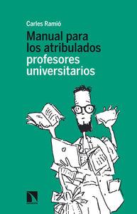 Manual para los atribulados profesores universitarios: portada