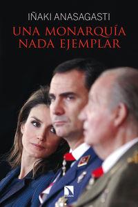 Una monarquía nada ejemplar: portada