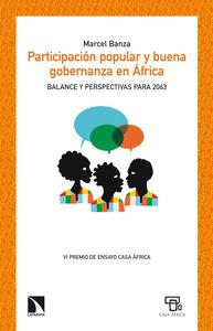 Participación popular y buena gobernanza en África: portada