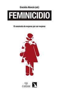 Feminicidio: portada