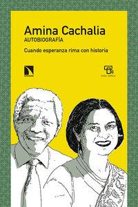 Amina Cachalia: portada