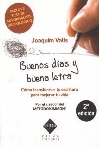 BUENOS DIAS Y BUENA LETRA: portada