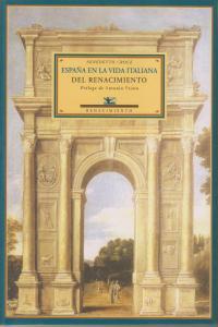 ESPAñA EN LA VIDA ITALIANA DEL: portada