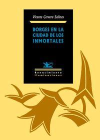 Borges en la Ciudad de los Inmortales: portada