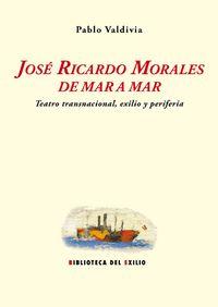 José Ricardo Morales de mar a mar: portada