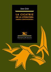 La cicatriz en la literatura europea contemporánea: portada