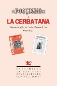POSTISMO Y LA CERBATANA: portada