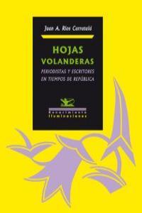 Hojas volanderas: portada