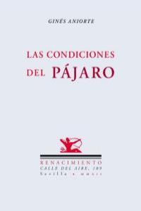 LAS CONDICIONES DEL PáJARO: portada