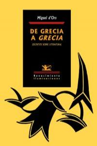 De Grecia a Grecia: portada