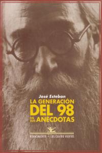 La generación del 98 en sus anécdotas: portada