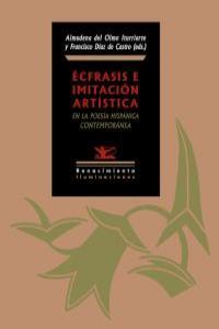 Écfrasis e imitación artística en la poesía hispánica contem: portada