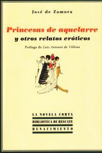 Princesas de aquelarre y otros relatos eróticos: portada
