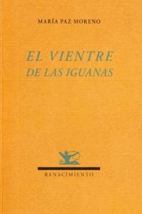 El vientre de las iguanas: portada