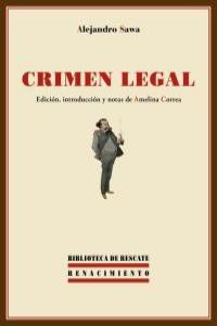 Crimen legal: portada