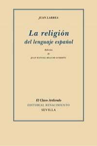 La religión del lenguaje español: portada