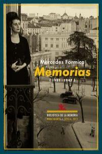 Memorias (1931-1947): portada