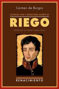 Gloriosa vida y desdichada muerte de don Rafael del Riego: portada