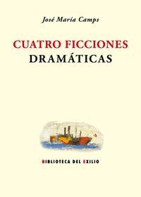Cuatro ficciones dramáticas: portada