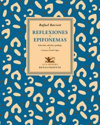 Reflexiones y epifonemas: portada