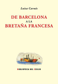 De Barcelona a la Bretaña francesa: portada