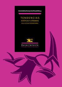Tendencias estéticas y literarias en la cultura contemporáne: portada