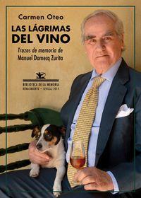 Las lágrimas del vino: portada