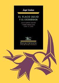 El flaco Julio y el escribidor: portada