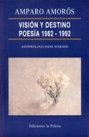 Visión y destino, poesía 1982-1992: portada