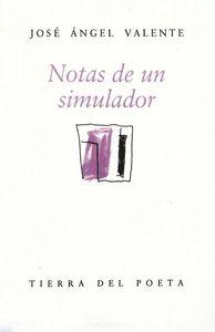 NOTAS DE UN SIMULADOR T.DEL POETA: portada