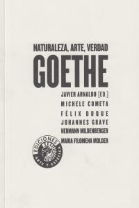 GOETHE NATURALEZA ARTE VERDAD: portada