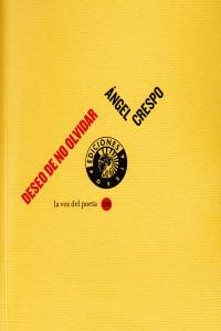 DESEO DE NO OLVIDAR + CD: portada