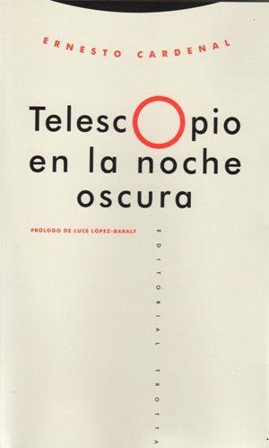 TELESCOPIO EN LA NOCHE OSCURA: portada