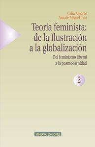 TEORÍA FEMINISTA 2 - DEL FEMINISMO LIBERAL A LA POSMODERN.: portada