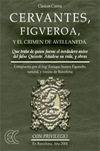 Cervantes, Figueroa y el crimen de Avellaneda: portada