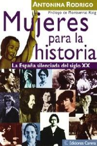 Mujeres para la Historia: portada